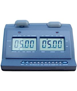Digital checkers clock
