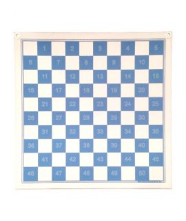 Magnetic draughts demonstraton board 70 cm without pieces