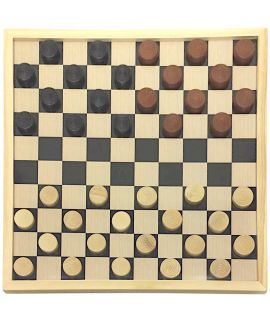 Beginners checkers set size 3