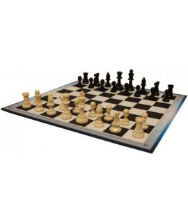 School chess set with notation - size 2 / 3