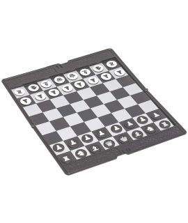 Foldable pocket magnetic chess set 20 x 17 cm