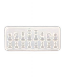 Silicone schaakmal voor ijsblokjes of chocolade