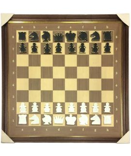 Luxury chess demonstration board magnetic 93 x 95 cm