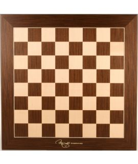Judit Polgar deluxe chess board 55 cm - fieldsize 55 mm - size 6