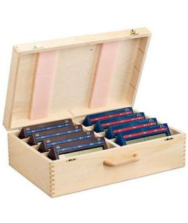 Wooden box for 8 chess clocks DGT 2010 or DGT 2000
