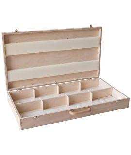 Wooden box for 8 chess clocks DGT Easy (Plus)