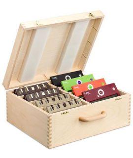 Wooden box for 8 chess clocks DGT XL or DGT Easy (plus)