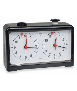 Quartz chess clock analog black