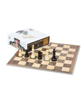 DGT Chess Starter Box Grey (Pieces & Board)