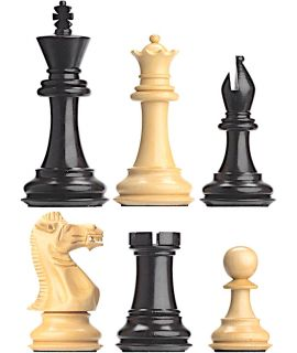 DGT Ebony chess pieces for electronic chessboards