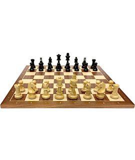 Wedstrijd stijl schaakspel 54 cm - maat 6 - ambachtelijk