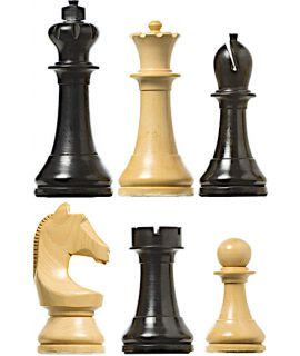 DGT Timeless weighted chess pieces for electronic chessboards (#6)