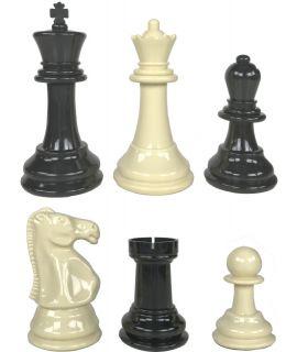 Buiten schaakstukken mini - koningshoogte 21 cm