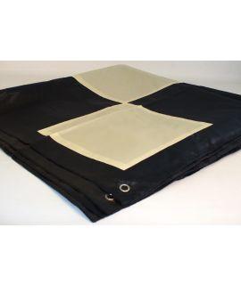 Nylon chessboard outdoor medium for king height 41 cm