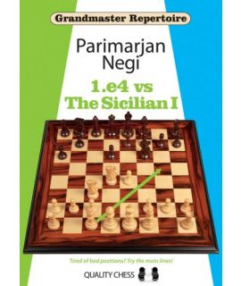 Grandmaster Repertoire - 1.e4 vs The Sicilian I - Parimarjan Negi (hardcover)