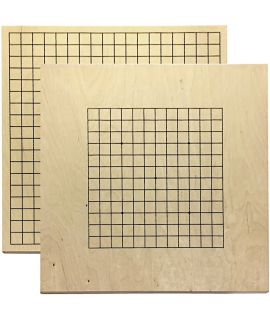 Go board 19 lines and 13 lines reverse side - 29 x 31 cm