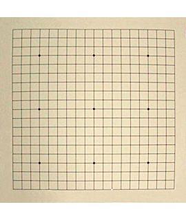 Vinyl oprolbaar go bord 19 lijnen - 51 cm