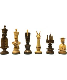 Vintage hungarian chess set - size 5