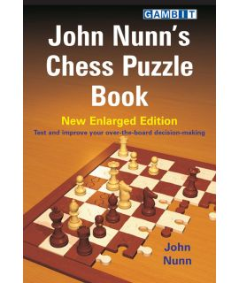 John Nunn's Chess Puzzle Book - Nunn