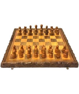 Vintage karpaten chess and backgammon set 49 cm - size 5