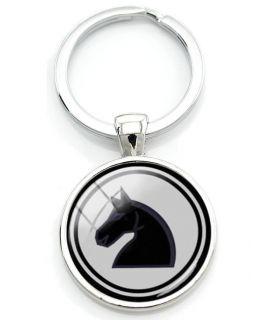 Schaakpaard sleutelhanger 27 mm