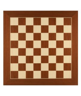 Macassar - maple luxury chess board 50 cm - fieldsize 50 mm - size 5