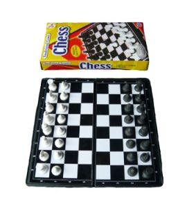Chess magnetic pocket travel set
