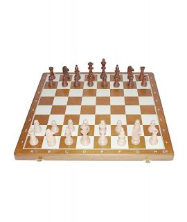 Chess magnetic travel set printed 27 by 13.5 cm