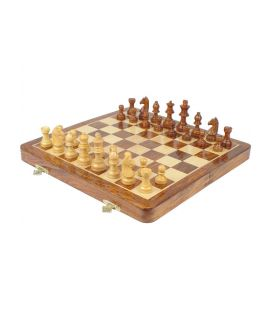 Chess magnetic travel set 9 x 17 cm
