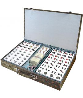 Mah jong set - urea stones 31 x 22 x 16 mm
