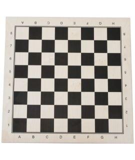Chessboard 52 cm black printed maple - squares 58mm