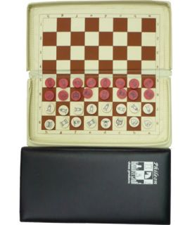 Chess magnetic luxery pocket travel set