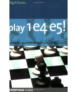 Play 1e4 e5 by Davies, Nigel