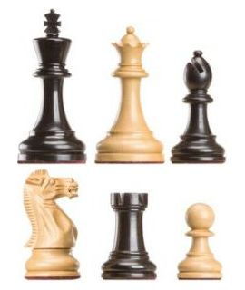 Judit Polgar deluxe chess pieces