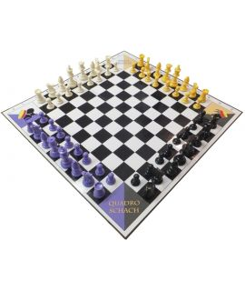 Quadro Chess and Checkers