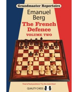 Grandmaster Repertoire 15 - The French Defence Volume Two by Emanuel Berg - Hardcover