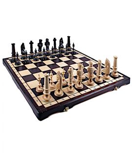 Chess set Royal Lux traditional carving 62 cm