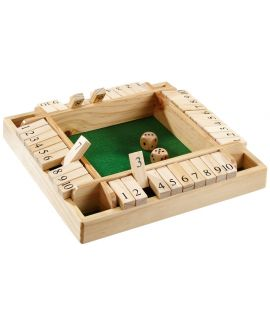 Shut the box 4 players 29 x 29 cm