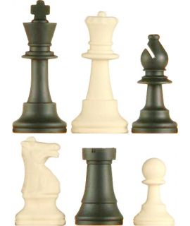 Chess pieces Staunton silicone - king height 95 mm