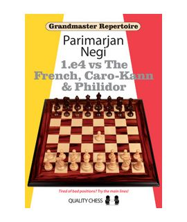 Grandmaster Repertoire - 1.e4 vs The French, Caro-Kann and Philidor - Parimarjan Negi