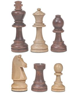 Chess pieces Staunton wood - king height 100 mm