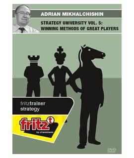 Strategy University Vol. 5: Winning Methods of great Players by  Adrian Mikhalchishin