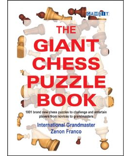 The Giant Chess Puzzle Book - Franco