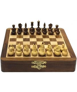 Luxury Tweedle dum chess set 20 x 20 cm
