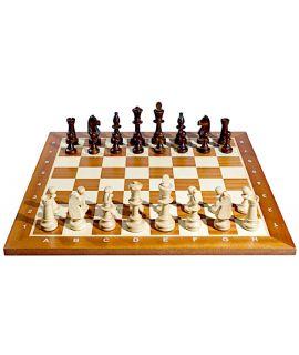 Wedstrijd Staunton schaakspel 54 cm - maat 6