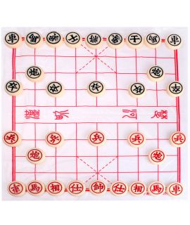 Xiang-Qi set - pieces 22 x 9 mm - chinese chess