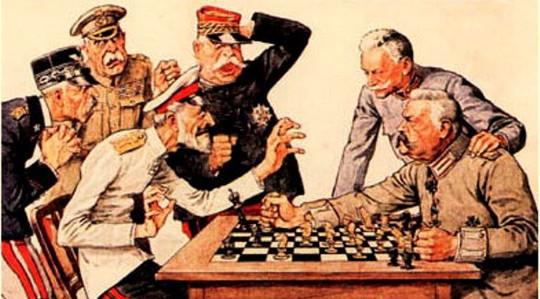 Schaken in de tweede wereldoorlog